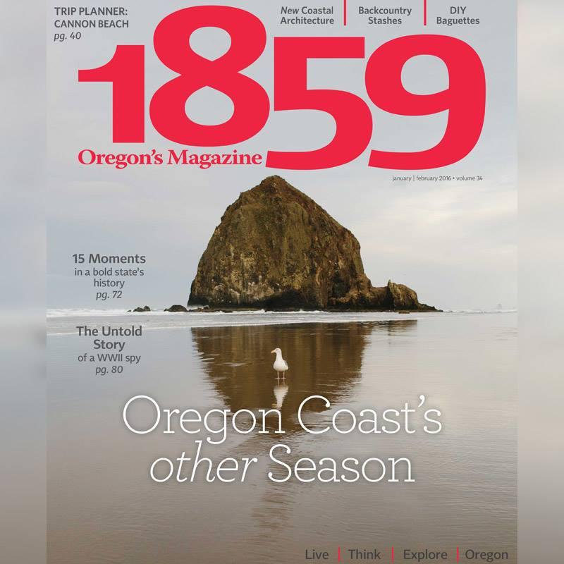 1859 Oregon's Magazine Feature: Lincoln City Beach House