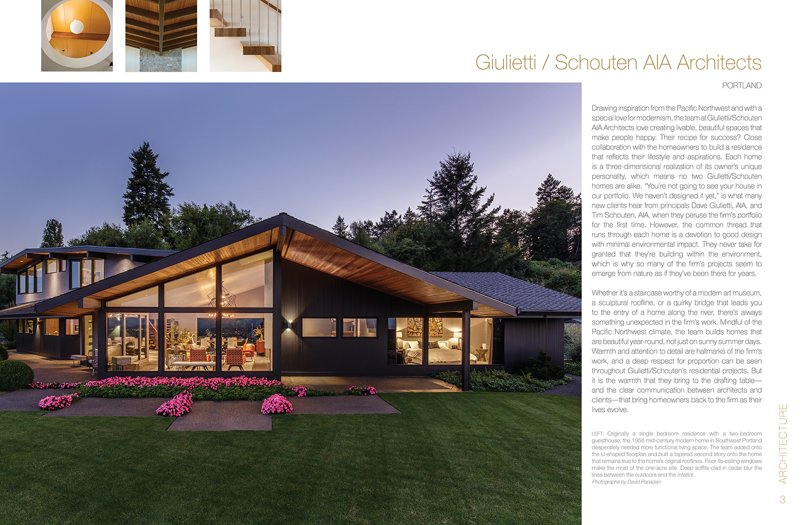 G/SA Published in Pacific Northwest Homes Book