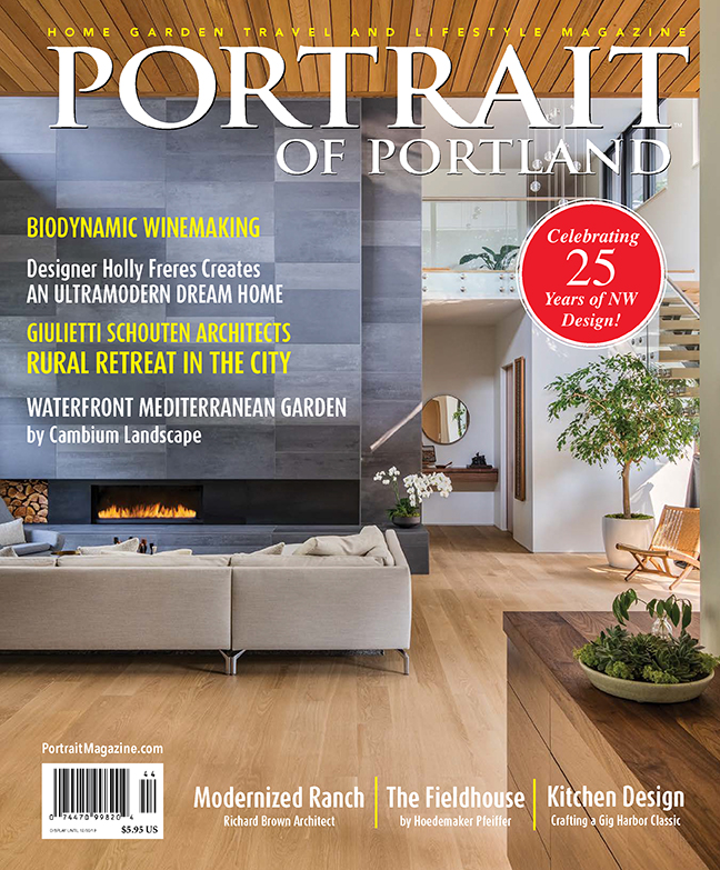 Wildwood on the Cover of Portrait Magazine
